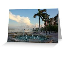 downtown ft pierce Greeting Card