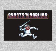 Ghosts 'n Goblins #01 Kids Tee