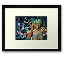 Crazy day in the office  Framed Print