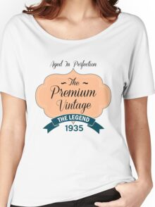 The Premium Vintage 1935 Women's Relaxed Fit T-Shirt