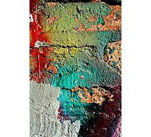Splat Impact Photographic Print