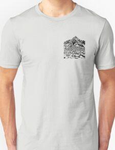 The Giants Causeway, Ireland. Ink Illustration T-Shirt