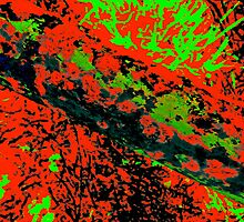 Comic Book Abstract by Dr. Charles Taylor