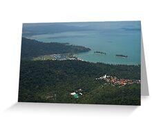 Cable Car - Langkawi Greeting Card
