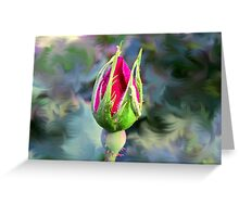 KnockOut Rosebud and Friend Greeting Card
