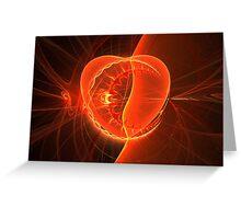 ©Taimiti Creations Designs - Heart & Moon  Greeting Card