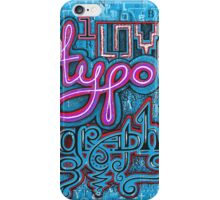 I Love Typography * simpled iPhone Case/Skin