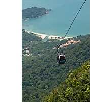 Cable Car - Langkawi Photographic Print