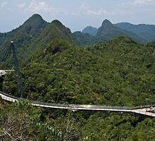 Sky Bridge - Langkawi by Colin  Ewington