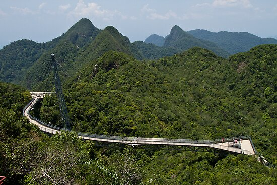 Sky Bridge - Langkawi by Colin  Ewington