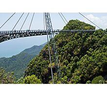Sky Bridge - Langkawi Photographic Print