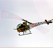 Helicopter Logging by Bryan D. Spellman