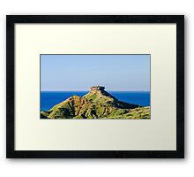 Sombreiro Hill Framed Print