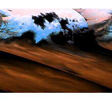 Ocean and Desert Photographic Print