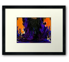 Oil Spill Framed Print
