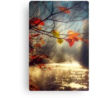 Golden River Metal Print