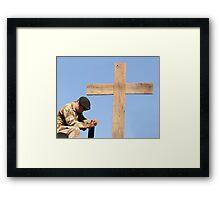 Prayers Answered Framed Print