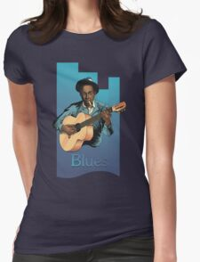 R J Blues Womens Fitted T-Shirt