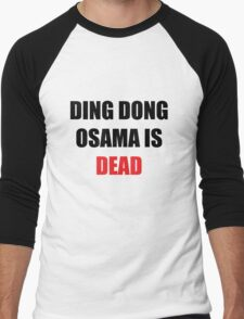 Osama Is Dead Men's Baseball ¾ T-Shirt