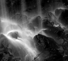 Bottom of the Falls by Kent Nickell