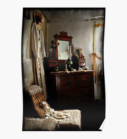 Ackerman's Cottage cameo No 2 ~ Hill End NSW Poster