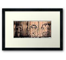 Sweet Monsters Framed Print