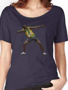 Usain Bolt Tribute Women's Relaxed Fit T-Shirt