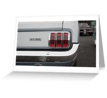 Shelby GT350 replica Greeting Card