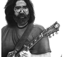 Jerry Garcia Portrait by Jimmy Bell