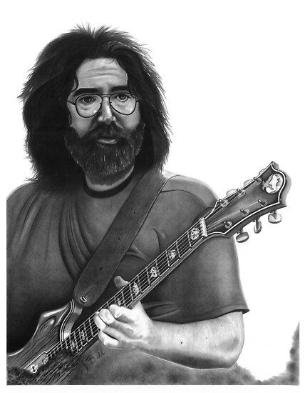 Jerry Garcia Portrait by Jimmy Bell