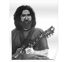 Jerry Garcia Portrait Poster