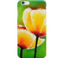 Yellow Flowers on a Green Grass iPhone Case/Skin
