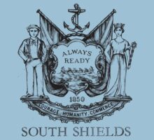 South Shields Coat of Arms II Kids Tee