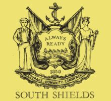 South Shields Coat of Arms II One Piece - Short Sleeve