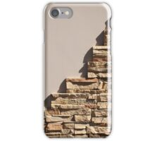 Decorative mosaics of natural stone iPhone Case/Skin
