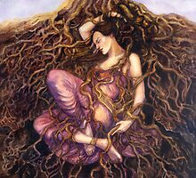 Tangled / Dreaming Dryad by Janet Chui
