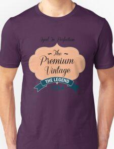 The Premium Vintage 1954 Unisex T-Shirt
