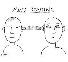 mind reading Photographic Print