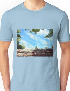 Detail of a blue sky with clouds Unisex T-Shirt