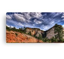 Day At Zion Canvas Print