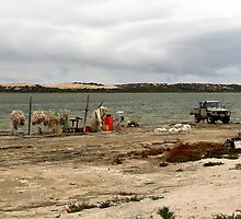 Comercial fishing Coorong  by bobby1