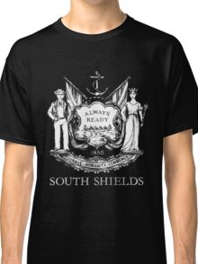 South Shields Coat of Arms White Classic T-Shirt