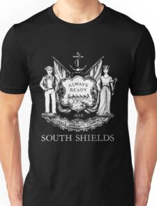 South Shields Coat of Arms White Unisex T-Shirt