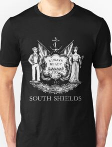 South Shields Coat of Arms White T-Shirt