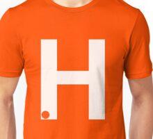 H White Unisex T-Shirt