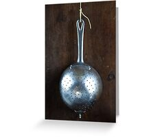 Sieve Greeting Card