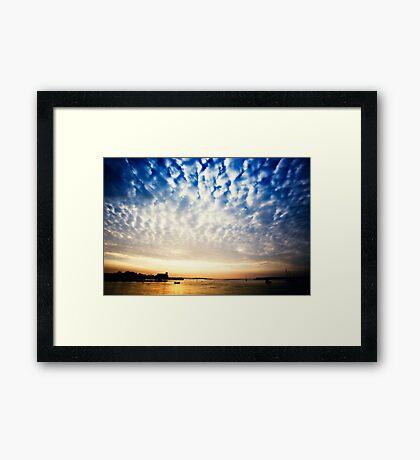 Sungarvan Over The Harbour Framed Print