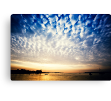 Sungarvan Over The Harbour Canvas Print