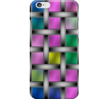 Color and pattern Flash iPhone Case/Skin