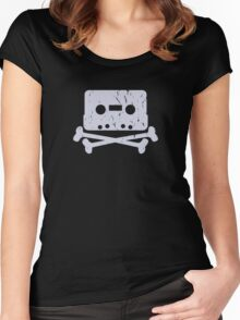 Cassette... Women's Fitted Scoop T-Shirt